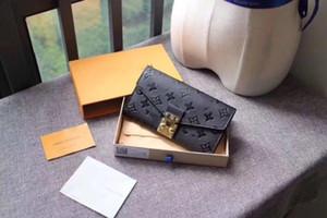2019 women's designer leather wallet famous ladies wallet