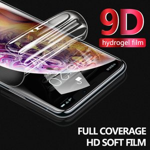 10D Screen Protector Case For iPhone 12 11 Pro XR 7 XS Max Front Protective Frosted Matte Full Soft Cover For iPhone X 8 6S