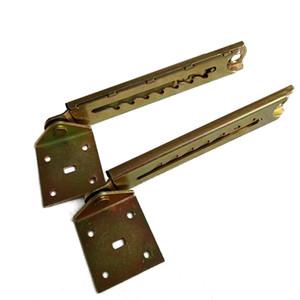 1pair ajustável Encostos Com suporte Sofá elevação Rod Ângulo dobradiça 7 engrenagem Bed
