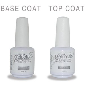 60PCS / 많은 오프 적시 주도 자외선 조화 gelish 젤 매니큐어 젤 칠기베이스 코트의 기초와 탑 코트