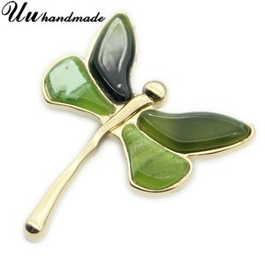 Dragonfly Brooch Lapel Pin Pins Acrylic Broches Vintage Broche Jewelry Fashion Brooches For Women Dresses 2020 Wedding Bouquets