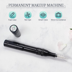 Wireless Permanent Makeup Machine Eyebrow Tattoo Pen Machine for Microblading Eyeliner Lip with Battery