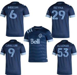 melhores MLS Vancouver Whitecaps 2020 Longe de Futebol 2021 INBEOM 4 FELIPE 8 ARDAIZ 9 MONTERO 12 REYNA 29 ALIADNAN 53 camisa de futebol CAMISAS