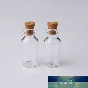 Vials Clear Glass Bottles With Corks Mini Glass Bottle Wood Cap Empty Sample Jars Small Cute Craft Wish Bottles