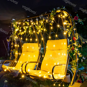 Wedding Party Luz Fada LED Cordas 1.5X1.5M 3x2m 6x4m LED Net Fada malha Garland Cortina do feriado do Natal Luz DHL