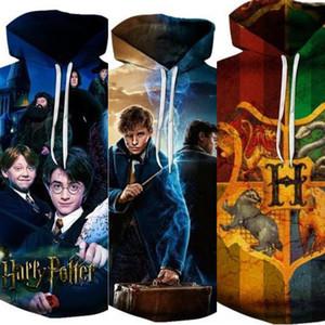 qy7OR Meiman maglione nuovo serie di Harry Potter per Hoodie periferica maglione Digital 3D stampa digitale con cappuccio uomini e donne anime