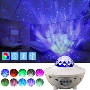 coloré Sky USB Starry musique Bluetooth Starlight scène Projecteur Watermark cadeau enfants lampe de projection