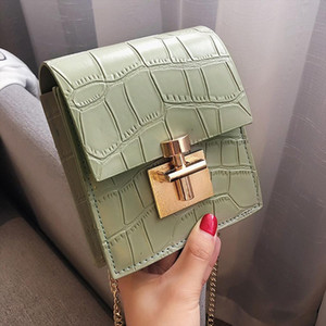 Crossbody Women Shoulder Bag 2019 Lady Solid Buckle Wool Shoulder Bag Messenger Bag Handbags Designer Bolsos De Mujer Z3