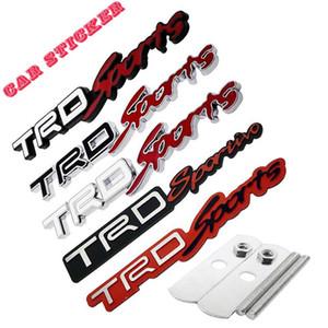Gewidmet Toyota Toyota TRD Sport Auto Aufkleber Metallgitter Auto-Logo aus gebürstetem Aluminium Aufkleber Körper Schwanz