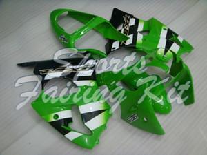 Carenatura kit per la ZX6R 636 2000 - 2002 nero bianco Full Kit corpo per Kawasaki ZX6R 02 Plastic carenature Ninja ZX6R 00