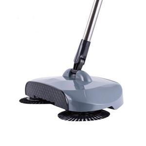 Máquina barredora de empuje tipo de la mano de empuje Escoba mágica recogedor maneta de limpieza paquete de la mano del barrendero de la fregona