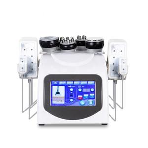 6in1 Cavitation RF Diode Laser Lipo Minceur Anti vide Corps Cellullite Radio Fréquence perte de poids beauté machine Salon utilisation DHL