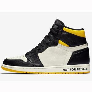 barato 1 Não para revenda Sem L's alta OG NRG Varsity Red Sail Preto Mens tênis de basquete Sneakers