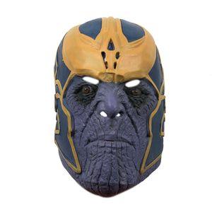 Танос Gauntlet Косплей перчатки Танос Маски Полный руководитель Хэллоуина маски