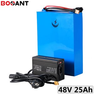 13S 48V 25Ah 1000W 1500W electric bicycle battery for Samsung 50E 21700 cell bike lithium with 2A Charger