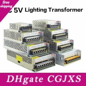5v 2a / 3a / 4a / 5a / 8a / 10a / 12a / 20a / 30a / 40a / 60a Interruptor LED de alimentação Transformadores Ws2812b Ws2801 Sk6812 Sk9822 Apa102 levou faixa