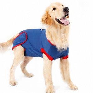 Pet Dog Recovery Cotton хирургии Костюм для четвероногих животных Одежда Cat Ношение Стерилизация Хирургическая платье Предотвратить Лик костюм Ткань waf5 #