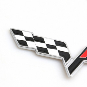 FR سباق العلم المعدنية شاحنة نافذة السيارة ملصقات شارة شعار لمقعد ليون FR + كوبرا إيبيزا ألتيا Exeo سباقات الفورمولا السيارات التصميم q8ab #