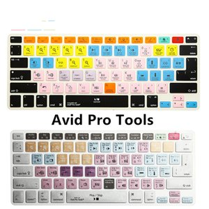 """Waterproof Avid Pro Tools Shortcut Hotkey Silicone Keyboard Skin Cover Protective Film for Macbook Air Pro Retina 13""""15"""" 17"""""""