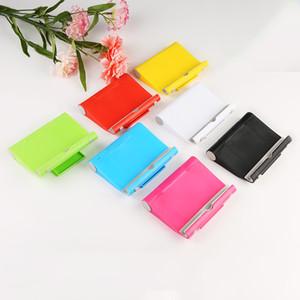 다기능 모바일 테이블 전화 홀더 지원 회전 범용 태블릿 자료 접는 게으른 휴대 전화 브라켓 7 색