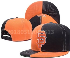 Top Quality Cheap Snapback Giants Cap SF classic bone Baseball Cap Embroidered Team Size Fans Flat&Curved Brim for Adult hat cap a18