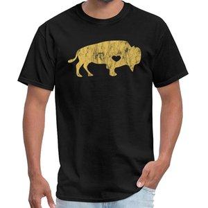 Baskı Altın Raging Buffalo MANDALARINDA Sıkıntılı I Love weeknd t gömlek erkekler doğaüstü t gömlek 3XL 4XL 5XL 6XL kıyafeti
