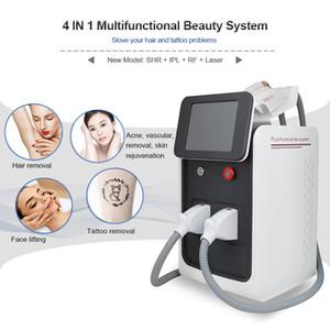 متعددة الوظائف آلة الجمال الليزر ipl إزالة الشعر ND YAG الليزر إزالة الوشم معدات الجمال RF الوجه رفع الأجهزة