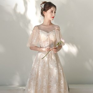 SEXY Off Shoulder Hollow Out Bridal Wedding Dress Elegant Full Length Evening Party Dress Lady Embroidery Vestidos PLUS SIZE