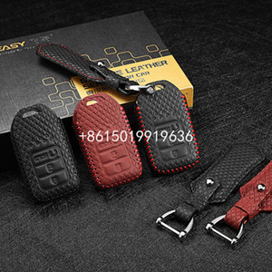 Cubierta de llaves de cuero para Honda CRV 2015 2.4L URV 240 Turbo Ancancier 240 370 Turbo Hoder Case