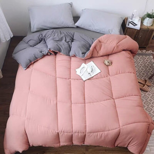 2 ~ 4kg의 폴리 에스테르 다운 이불 이불 킹 퀸 트윈 사이즈 럭셔리 인쇄 가을 / 겨울 담요 침대 위로하는 필러 퀼트