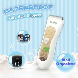 Infant Auto-ajuda Hair Clipper carregamento USB Mute Waterproof bebê careca cabelo Trimmer cortador elétrico Haircut Máquina # 0425