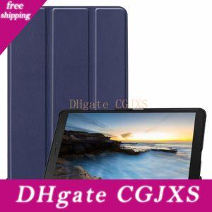 Manyetik Trifold Kılıf Tablet için Samsung Galaxy Tab A 8 0,0 2019 T290 T295 P205 P200 Tab A 8 0,0 2018 T387 30pcs