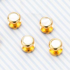 Мужчины Женщины Мода запонки Ювелирные изделия Новые кнопки манжета для Mens французской оптовой рубашки высшего качества