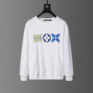 FF para hombre blanco roto diseñador del suéter con capucha de los hombres de las mujeres del suéter con capucha de manga larga Pullover Marca sudaderas Streetwear Moda Sweatershirt
