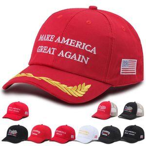 Heiße Verkäufe Donald Trump Baseball Cap Make America Great Again Hat Stickerei halten Amerika Großer Hut republikanischen Präsidenten Trump Kappen DHD687