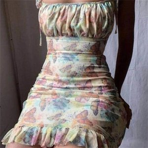 2018ss Women Sexy Lapel Collar Printed Shirt Dresses Slim Fit Mini Dress Club Party Wear
