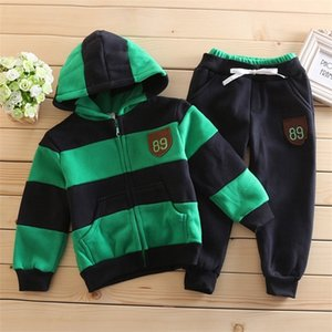 2019 Winter Baby Boy Clothing Set Cotton Baby Girls Clothes Newborn Baby Clothes Warm Jacket Fashion Clothes Sports Kids Outfits