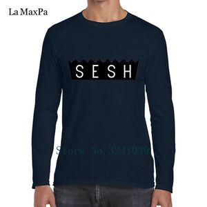 Создайте свой собственный Прохладный Лучший Tee Shirt Men Team Сеш Уникальная T-Shirt Mens Sunlight Crew Neck Streetwear Regular Tshirt Лучшие качества