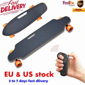Ship from USA Europe Four Wheel Electric Skateboard Wireless Remote controller Scooter Plate Board hoverboard unicycle 6uOp#