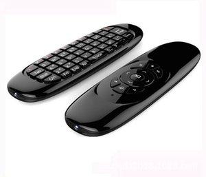 Cgjxs гироскоп Fly Air Mouse C120 беспроводной игры Клавиатура Android Пульт дистанционного управления Аккумуляторная клавиатура для Smart TV Mini PC