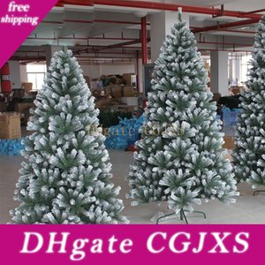 Creative Good Looking Christmas Tree With Snowflakes 1 .2 Metres To 3 Metres Tall For Hotel Company Shopping Mall Using One Piece  Package