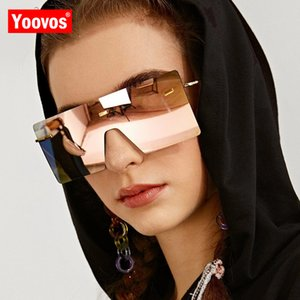 Yoovos 2020 Sunglasses Women Oversized Sunglasses Luxury Okulary Brand Designer Women Sun Glasses Square Retro Men For Eyewear