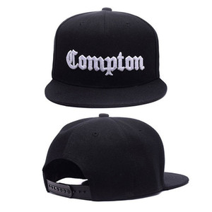 12 цветов Мужских Compton Snapback Шляпа Bone Gorras Swag LA Snapbacks Compton Хип-хоп бейсболки для взрослых