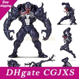 Figma Serie No .003 Revoltech Venom Figura Con staffa PVC Action Figure Collection Model Toy 15 centimetri