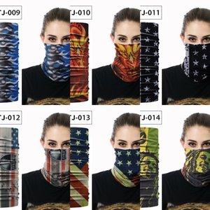 magie américaine extérieur masque de protection sports écharpe d'équitation de protection multi-fonctionnelle transparente masque Scarf