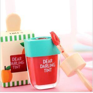 Coreano ETUDE HOUSE Caro Caro tinta Ice Cream Lipgloss Trucco liquido opaco Rossetto Lasting Crema Idratante impermeabile Lip Gloss