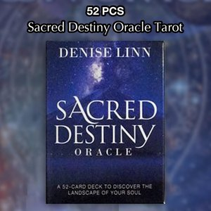 Game Games Sacred Cards Table Made Factory Tarot Table Oracle Good Quality 52 Destiny Cards yxldBt xhlove