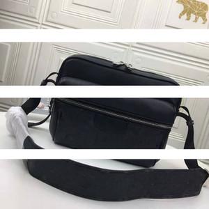 Hot nuovo Mens cuoio borse a spalla tela Designers Messenger Bag borse famose di viaggio postino Piazza della cartella del sacchetto di Crossbody di buona qualità 5 col