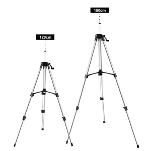 1.5 m Laser Level Measuring Tools Coated Aluminum Tripod Line Laser Rotary Lasers Construction Optical Instruments