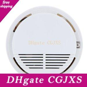 Kablosuz Yangın Duman Dedektörü Sensörü Alarm Ev Güvenlik Sistemi Beyaz Perakende Paketi dropshipping 200pcs / Lot